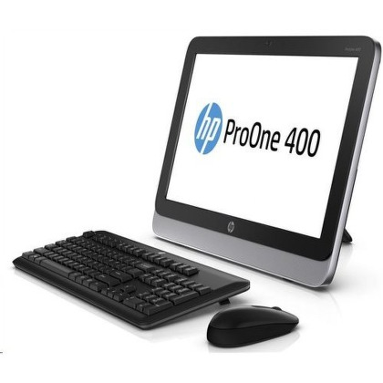 "Počítač All In One HP ProOne 400 19.5"""", Celeron G1820T, 4GB, 500GB, DVD±R/RW, HD, DOS"