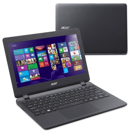 "Ntb Acer Aspire E11S (ES1-111M-C02R) Celeron N2840, 2GB, 32GB, 11.6"""", bez mechaniky, Intel HD, BT, CAM, Win 8.1 / Win10"