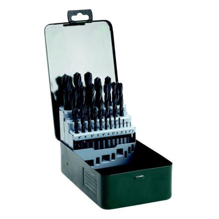 Sada vrtáků Bosch 25 dílná do kovu HSS-R