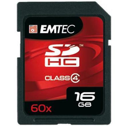 Emtec SDHC 16 GB (Class4)