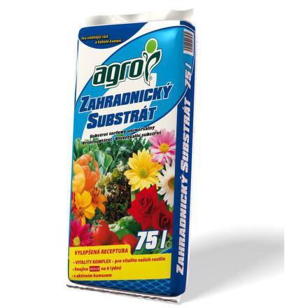 Substrát Agro zahradnický 75 l