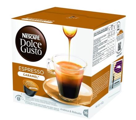 Krups kapsle Espresso Caramel