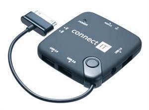 Čtečka karet a USB hub pro Samsung Galaxy Tab