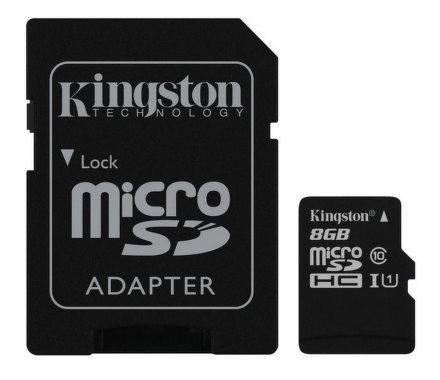 Kingston microSDHC 8GB UHS