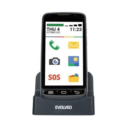Mobilní telefon Evolveo EasyPhone D2, Android se snadným ovládáním - černý