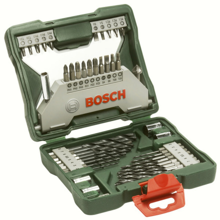 Sada vrtáků a bitů Bosch 43 dílná X-Line