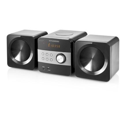 Mikrosystém Hyundai MS 132 DU3BL, CD, MP3, USB, LINE IN, BLUETOOTH, dálkové ovládání