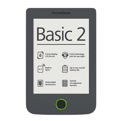 Čtečka e-knih Pocket Book 614 Basic 2 - šedá