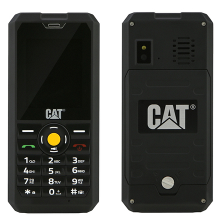 Mobilní telefon Caterpillar B30 DualSIM - černý