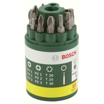 Sada Bosch 10 dílná šroubovacích bitů
