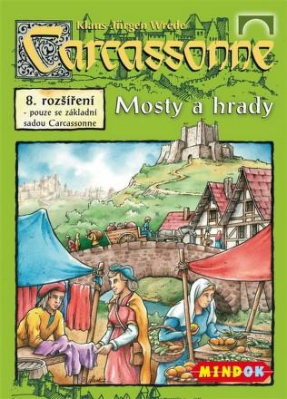 Hra Mindok Carcassonne - rozšíření 8 (Mosty a hrady)