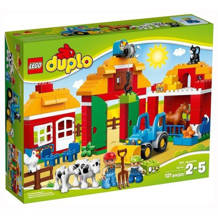 Stavebnice Lego® DUPLO Ville 10525 Velká farma