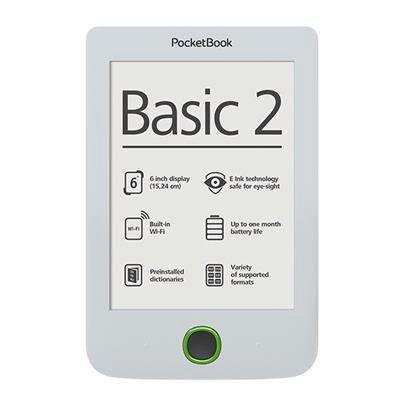 Čtečka e-knih Pocket Book 614 Basic 2 - bílá