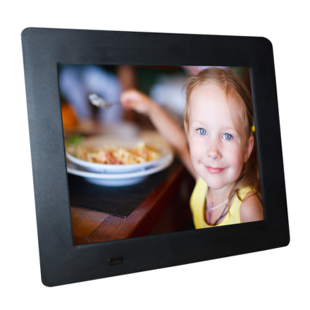 Fotorámeček digitální Hyundai LF 1020 MULTI, LED, SD/SDHC, USB, SLIM