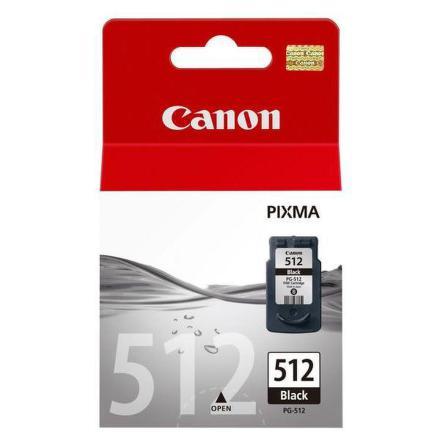 Inkoustová náplň Canon PG-512Bk, 15ml originální - černá