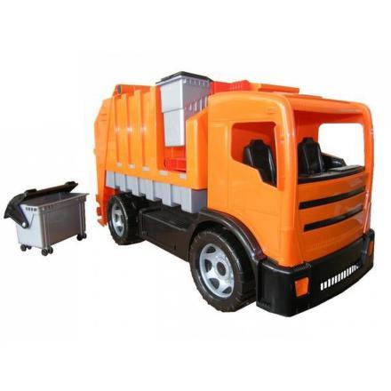 Popelářské auto LENA - oranžová