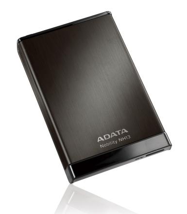 ADATA NH13 1TB External 2.5'' HDD Black