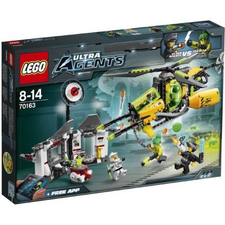 Stavebnice Lego® Ultra Agents 70163 Toxikotovo toxické rozpuštění