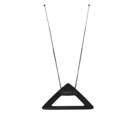 Anténa pokojová GoGEN DA 123 P, pasivní, černá barva