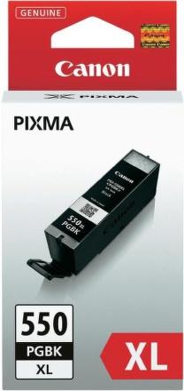 Inkoustová náplň Canon PGI-550XL PGBK, 500 stran originální - černá