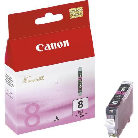 Inkoustová náplň Canon CLI-8PM, 450 stran originální - červená