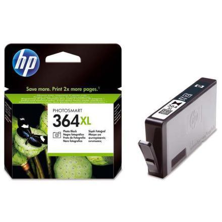 Inkoustová náplň HP No. 364XL, 290 stran originální - černá