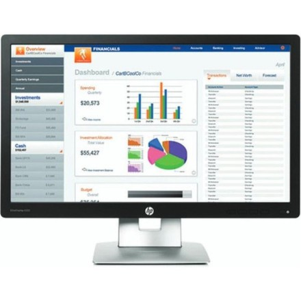 "Monitor HP EliteDisplay E232 23"""",LED, IPS, 7ms, 1000:1, 250cd/m2, 1920 x 1080,DP,"