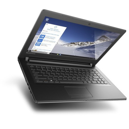 "Ntb Lenovo IdeaPad 300-14IBR Celeron N3150, 2GB, 500GB, 14"""", HD, bez mechaniky, Intel HD, BT, CAM, W10 - černý"