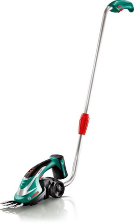 Nůžky na trávu Aku Bosch AGS 7,2 LI + teleskopická tyč
