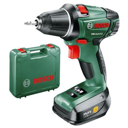 Aku vrtačka Bosch PSR 14,4 LI-2, 2 aku
