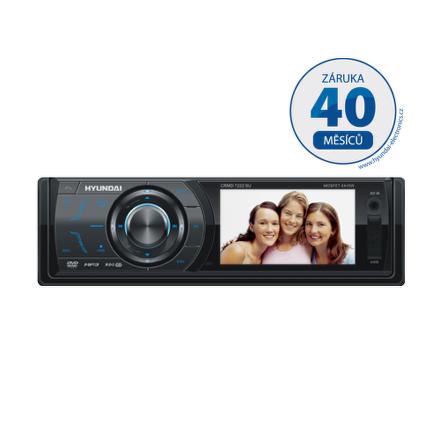 """Autorádio Hyundai CRMD 7222 SU, DVD/MP3/USB/SD/MMC, 3""""""""LCD"""