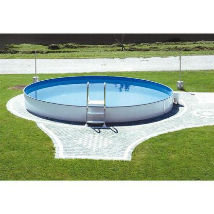 Bazén Steinbach Styria 3,5 x 1,2 m s kovovou konstrukcí vč. písk. filtrace Classic 300, 3,8m3/hod