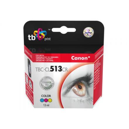 Inkoustová náplň TB Canon CL513CR kompatibilní - červená/modrá/žlutá