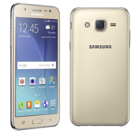 Mobilní telefon Samsung Galaxy J5 Dual SIM (SM-J500F) - zlatý