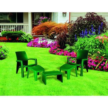 Zahradní nábytek Allibert Lago MaxiI relax zelené