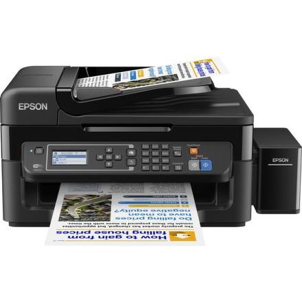 Tiskárna multifunkční Epson L565 A4, 9str./min, 4str./min, WF, USB - černá