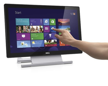 """Monitor Dell S2240T Touch 21.5"""""""",LED, VA, 12ms, 8000000:1, 250cd/m2, 1920 x 1080,"""