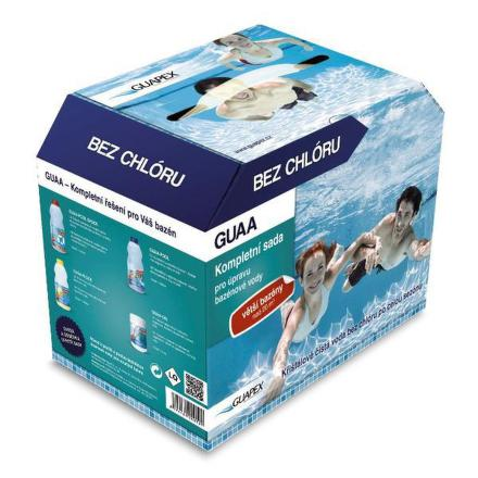 Bazénová chemie Guapex - Sada pro velké bazény