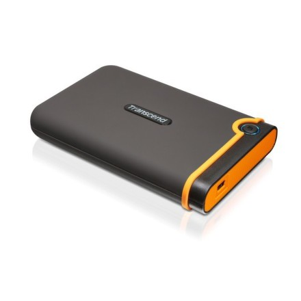 "HDD ext. 2,5"""" Transcend StoreJet 25M2 500 GB - černý/oranžový"