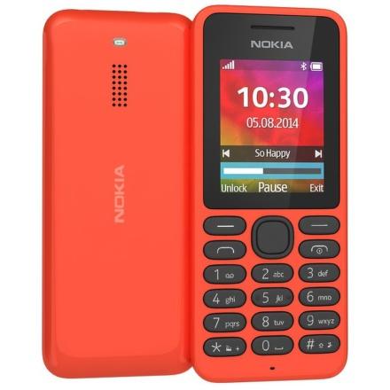 Mobilní telefon Nokia 130 Dual Sim - červený