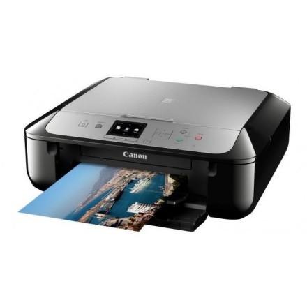 Tiskárna multifunkční Canon PIXMA MG5752 A4, 12str./min, 9str./min, duplex, WF, USB - černá/stříbrná