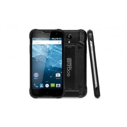 Mobilní telefon GoClever QUANTUM2 500 Rugged Black LTE, odolný - černý