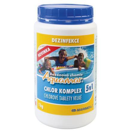 Bazénová chemie Marimex AQuaMar Komplex 5v1 1kg