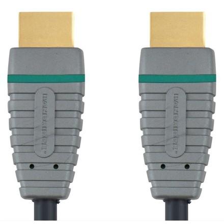 Kabel Bandridge Blue HDMI 1.4, A - A, 3m