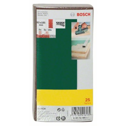 Bruska vibrační Bosch PSS 250 AE + 25 ks sada br. papírů