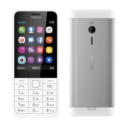 Mobilní telefon Nokia 230 Single SIM - bílý