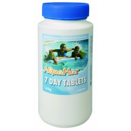 Bazénová chemie Marimex AQuaMar - 7 DAY TABLETS 1,6 kg