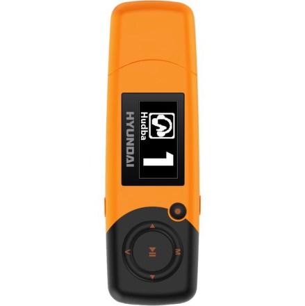 MP3 přehrávač Hyundai MP 366 FM, 8GB, oranžový