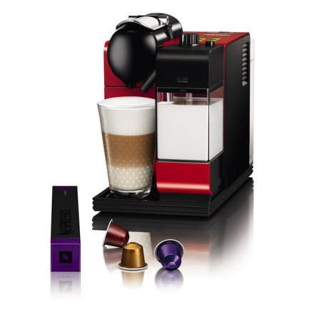 Espresso DeLonghi Nespresso EN 520 R Lattissima červená