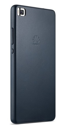 Kryt na mobil Huawei kožené pro P8 - modrý